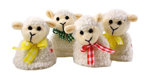 Schafe als Eierwärmer