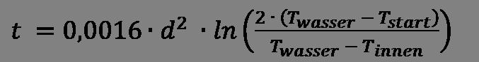 Gruber Formel
